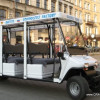 City tours by electric car