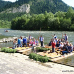 Il Rafting sul fiume Dunajec